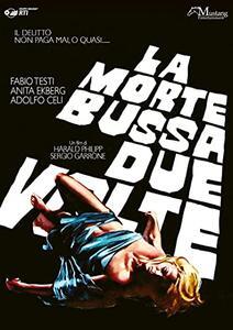 Film La morte bussa due volte (DVD) Harald Philipp Sergio Garrone