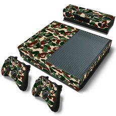 Videogiochi Console e accessori Set Adesivi Pattern Series Decals Skin Vinyl Camouflage V2 Per Console Xbox One