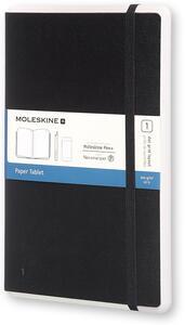 Taccuino Microsoft Moleskine large puntinato copertina rigida. Nero