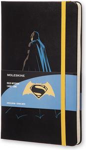 Cartoleria Taccuino Moleskine large a righe. Edizione limitata Batman Moleskine 0