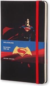 Taccuino Moleskine Batman v Superman Limited Edition large a righe. Superman