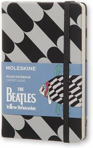 Taccuino Moleskine The Beatles Limited Edition pocket a righe. Fish