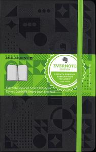 Cartoleria Taccuino Moleskine large a quadretti. Edizione speciale Evernote Moleskine 0