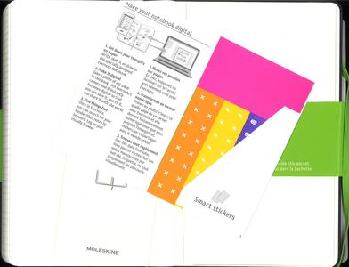 Cartoleria Taccuino Moleskine large a quadretti. Edizione speciale Evernote Moleskine 3