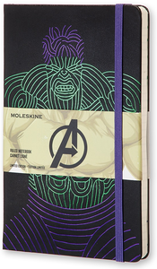 Cartoleria Taccuino Moleskine large a righe.Edizione limitata Marvel Hulk Moleskine 0