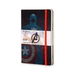 Cartoleria Taccuino Moleskine large a righe.Edizione limitata Marvel Captain America Moleskine 0
