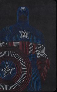 Cartoleria Taccuino Moleskine large a righe.Edizione limitata Marvel Captain America Moleskine 1