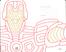 Cartoleria Taccuino Moleskine large a righe.Edizione limitata Marvel Iron Man Moleskine 4