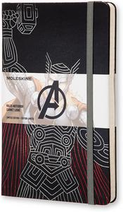 Cartoleria Taccuino Moleskine large a righe.Edizione limitata Marvel Thor Moleskine 0