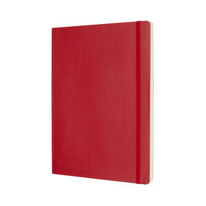 Taccuino Moleskine extra large puntinato copertina morbida rossa - 2