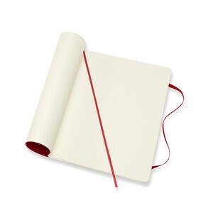 Taccuino Moleskine extra large puntinato copertina morbida rossa - 4