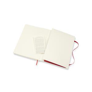 Taccuino Moleskine extra large puntinato copertina morbida rossa - 5