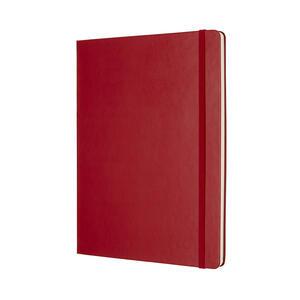 Taccuino Moleskine extra large puntinato copertina rigida rossa - 2