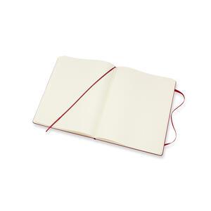 Taccuino Moleskine extra large puntinato copertina rigida rossa - 4