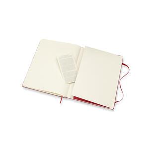 Taccuino Moleskine extra large puntinato copertina rigida rossa - 5