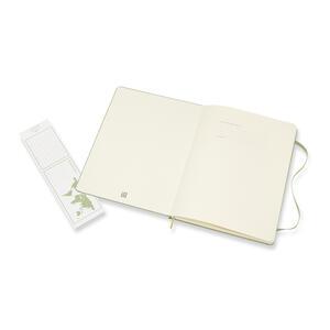 Taccuino Moleskine a pagine bianche copertina rigida verde - 3