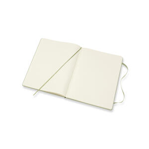 Taccuino Moleskine a pagine bianche copertina rigida verde - 4