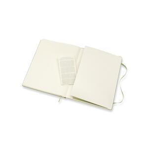 Taccuino Moleskine a pagine bianche copertina rigida verde - 5
