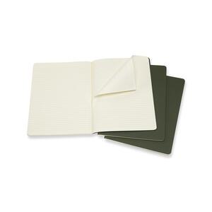Quaderno Cahier Moleskine extra large a righe copertina verde - 2