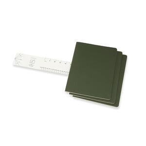 Quaderno Cahier Moleskine extra large a righe copertina verde - 3