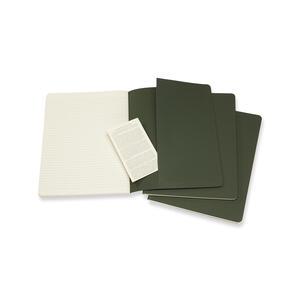 Quaderno Cahier Moleskine extra large a righe copertina verde - 4
