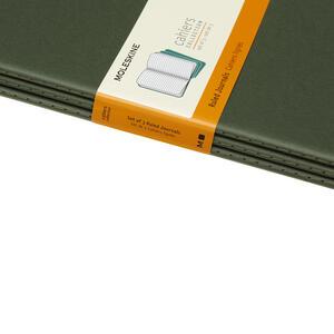 Quaderno Cahier Moleskine extra large a righe copertina verde - 5