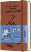 Cartoleria Agenda giornaliera 2018, 12 mesi, Moleskine pocket edizione limitata Alice in Wonderland Moleskine
