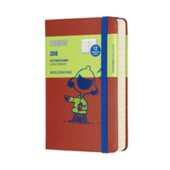 Cartoleria Agenda giornaliera 2018, 12 mesi, Moleskine pocket edizione limitata Peanuts Moleskine