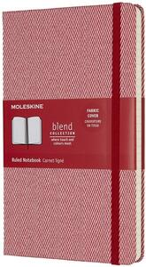 Taccuino Moleskine Blend Collection Limited Edition large a righe. Rosso
