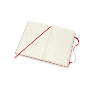 Taccuino Moleskine Blend Collection Limited Edition large a righe. Rosso - 4