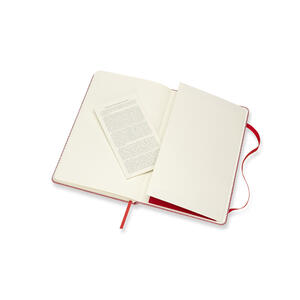 Taccuino Moleskine Blend Collection Limited Edition large a righe. Rosso - 5