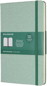 Taccuino Moleskine Blend Collection Limited Edition large a righe. Verde