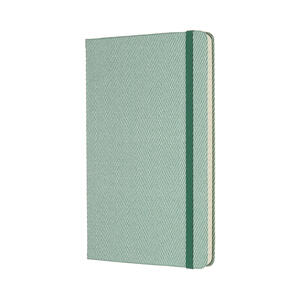 Taccuino Moleskine Blend Collection Limited Edition large a righe. Verde - 2