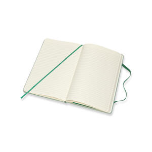 Taccuino Moleskine Blend Collection Limited Edition large a righe. Verde - 4