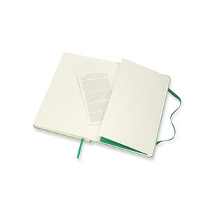 Taccuino Moleskine Blend Collection Limited Edition large a righe. Verde - 5