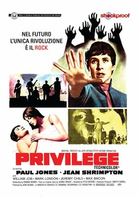 Cover Dvd Privilege. Shockproof (DVD)