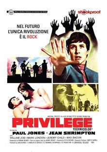 Privilege. Shockproof (DVD) di Peter Watkins - DVD