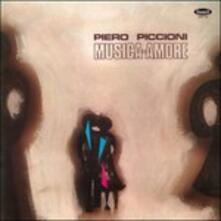 Musica Amore (Colonna Sonora) - Vinile LP di Piero Piccioni