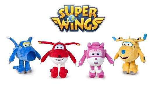 Super Wings. Peluche 28 Cm