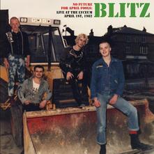 No Future for April Fools. Live - Vinile LP di Blitz