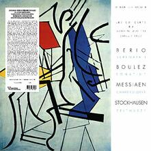 Serenata I - Sonatine - Canteyodjaya - Zeitmas - Vinile LP di Luciano Berio,Pierre Boulez,Olivier Messiaen,Karlheinz Stockhausen