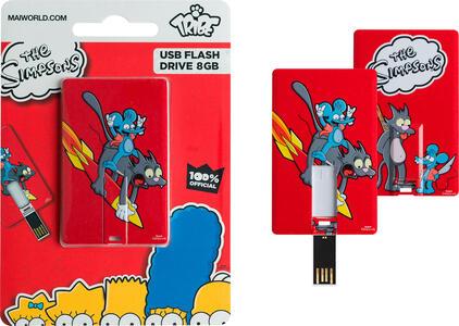 Tribe FC003403 8GB USB 2.0 Capacity Multicolore, Rosso unità flash USB - 2