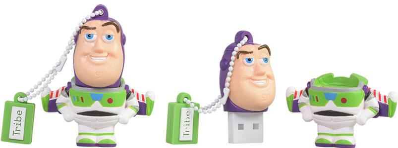 Tribe 8GB, Toy Story - Buzz Lightyear unità flash USB 2.0 Connettore USB di tipo A Multicolore - 3