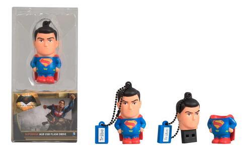 Chiavetta USB 8GB Batman v Superman. Superman