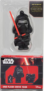 Chiavetta USB 16GB Star Wars The Force Awakens. Kylo Ren