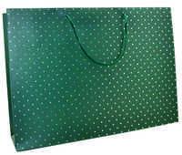 Cartoleria Sacchetto regalo Gift Bag Medium. Green Legami