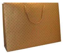 Cartoleria Sacchetto regalo Gift Bag Extra Large. Gold Legami