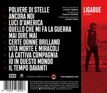 Start - CD Audio di Ligabue - 2