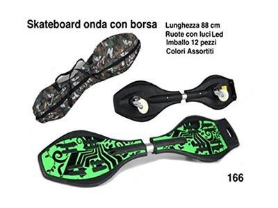 Skateboard Onda Con Sacca - 2