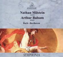 Musica per pianoforte e violino - Vinile LP di Johann Sebastian Bach,Ludwig van Beethoven,Nathan Milstein,Artur Balsam